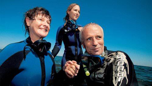Photo of Hluchoslepá Heather se potápěla
