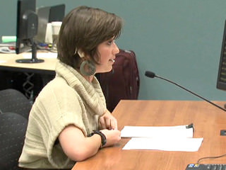 Photo of Americké neslyšící studentce odmítá škola poskytnout zapisovatele
