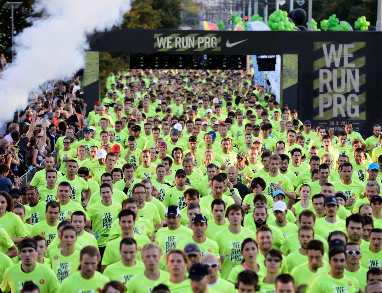 Photo of I neslyšící se zúčastnili běhu We Run Prague 2014