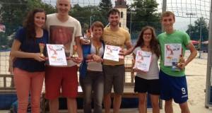 Desátý ročník turnaje v beachvolejbalu v Záběhlicích