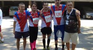 Orientační běh si kromě reprezentantů vyzkoušeli další neslyšící sportovci