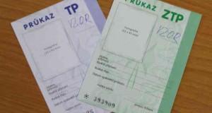 Kvůli ODS a TOP 09 budou možná problémy s průkazkami ZTP, ZTP/P