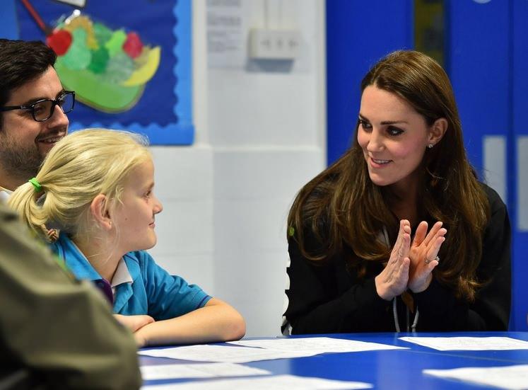 Photo of Princezna Kate umí základy britského znakového jazyka