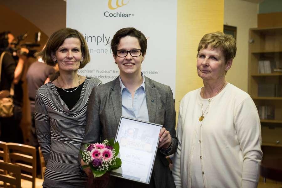 Photo of Neslyšící Jana Havlová získala stipendium Cochlear Graema Clarka