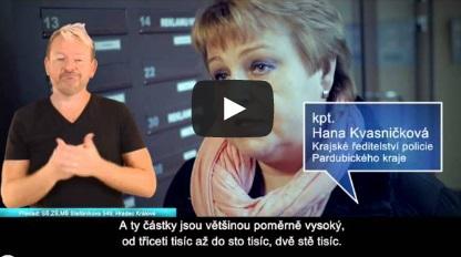 Photo of To musíte vidět! Videospoty Policie České republiky přeložené do ČZJ sčeskými titulky