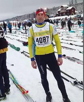Photo of František Kocourek opět zúčastnil legendárního závodu Vasaloppet