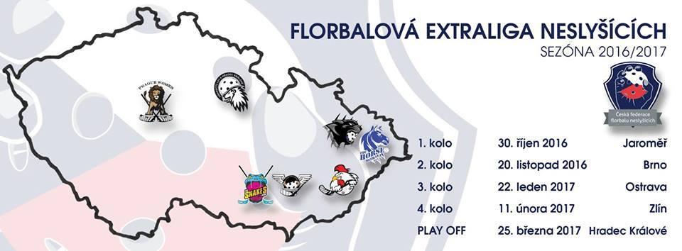 Photo of Florbalová extraliga neslyšících 2016/2017 skončila