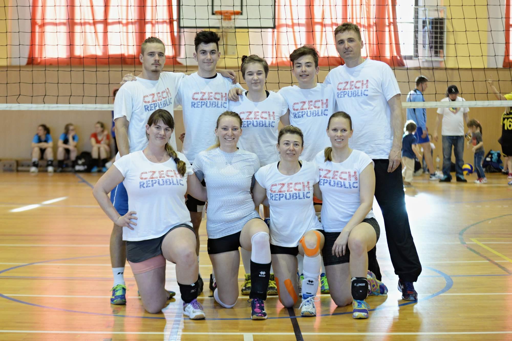 Photo of Mezinárodní volejbalový turnaj vyhrála Olympia Praha