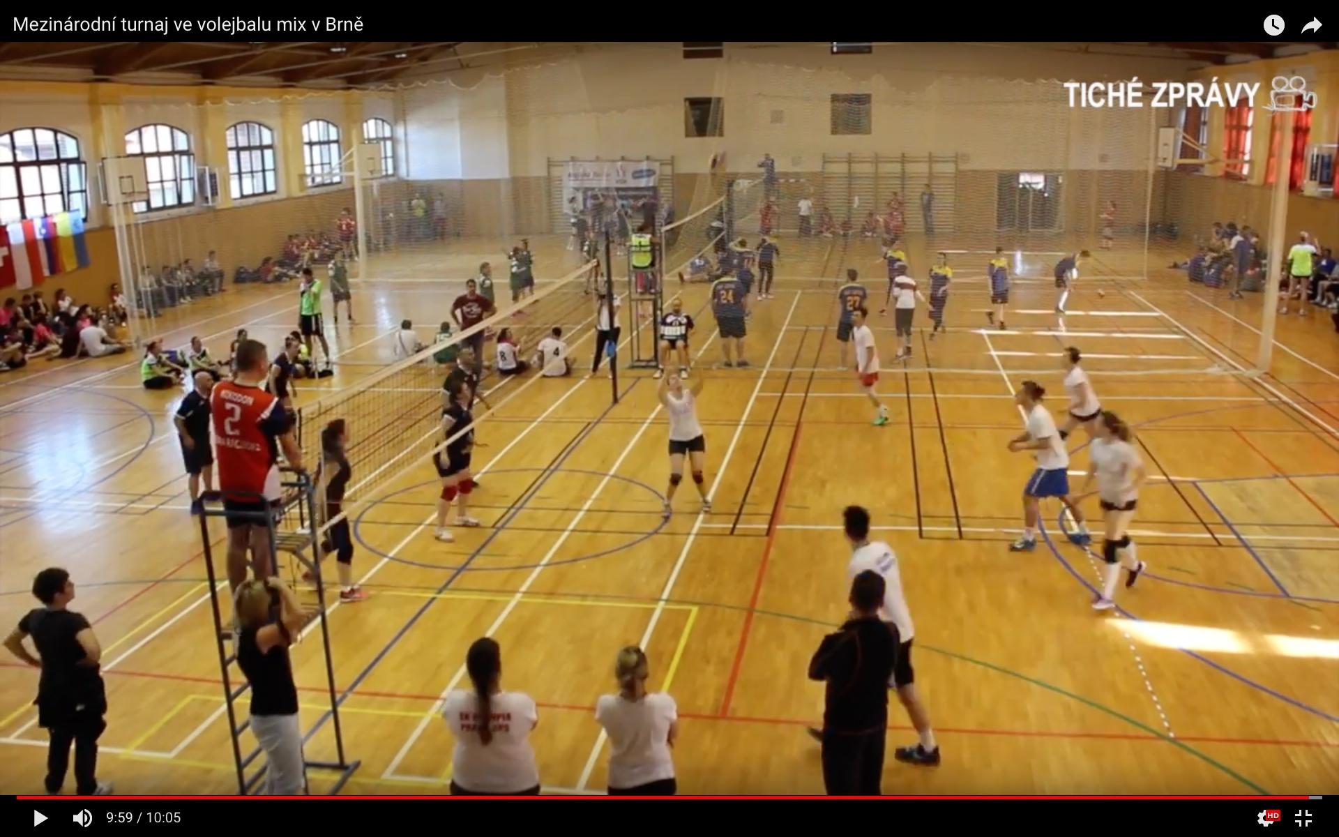 Photo of Mezinárodní turnaj ve volejbalu mix vBrně
