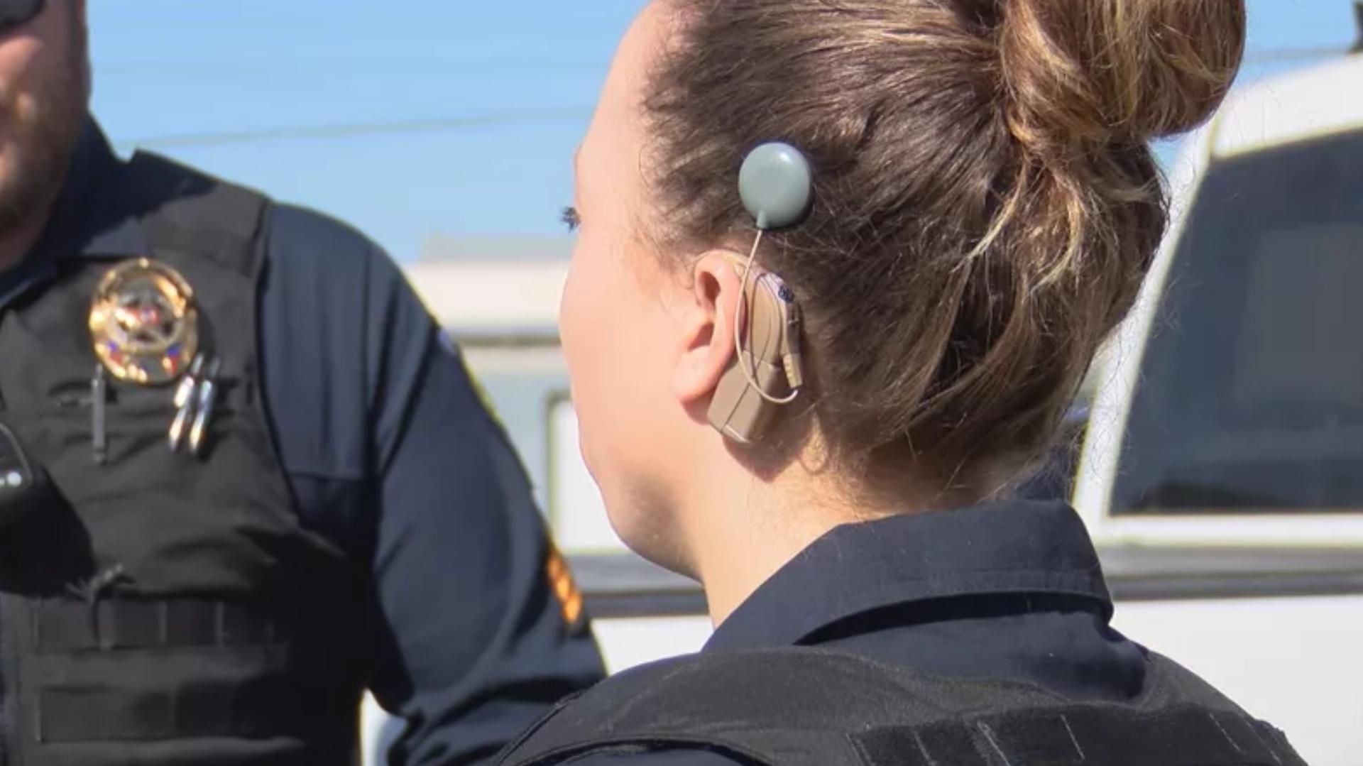Photo of V Texasu mají první neslyšící policistku