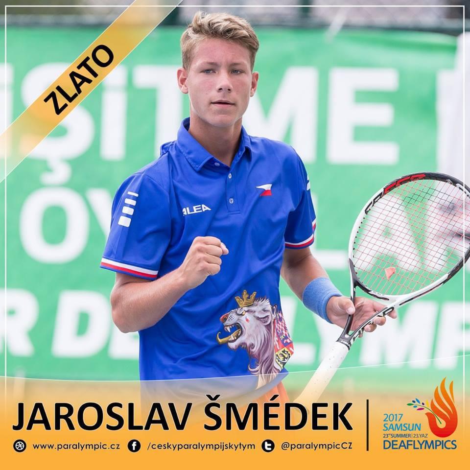 Photo of Tenista Šmédek je třetí ve světovém žebříčku