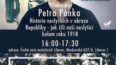 """Photo of Přednáška """"Historie neslyšících vobraze republiky"""""""