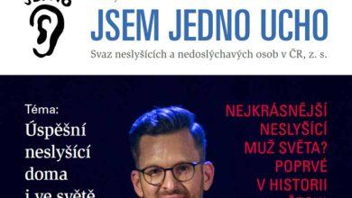 """Photo of Vychází první číslo časopisu """"Jsem jedno ucho"""""""