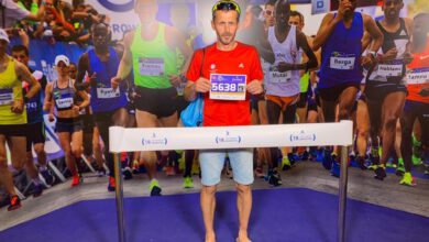 Photo of Richard Helcel se zúčastnil maratonu