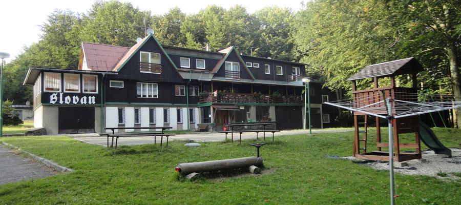 chata Slovan Tesák
