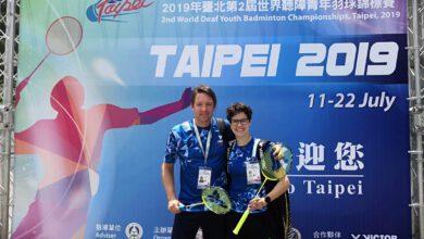 Photo of Mistrovství světa vbadmintonu neslyšících vTaipei se zúčastnila iJana Havlová