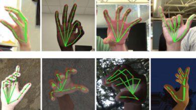 Photo of Google vyvinul program, který rozpozná díky 21 bodům na prstech adlani ruky znakový jazyk