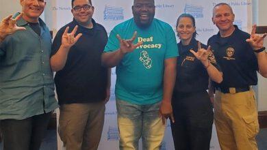 Photo of Skupina policistů se chce naučit znakovat, aby mohla pomáhat ineslyšícím