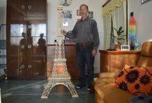 Photo of Eiffelova věž ze špejlí je dílo neslyšícího Smotlachy