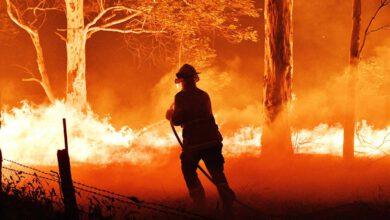 Photo of S australskými požáry bojoval ineslyšící hasič