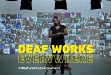 Photo of 2 z3 mladých neslyšících schovávají svůj sluchový handicap přihledání práce