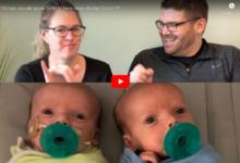 Photo of Dvojčata se narodila neslyšícím rodičům