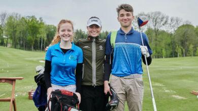 Photo of Neslyšící golfistka dostala dárek od olympioničky Kláry Spilkové