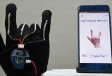 Photo of High-tech rukavice překládá znakový jazyk do mluvené řeči